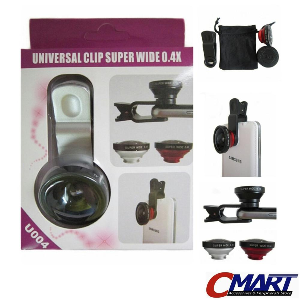 Lensa Universal Clip SUPER WIDE 0.4x di HP - GRC-LS-CUSW