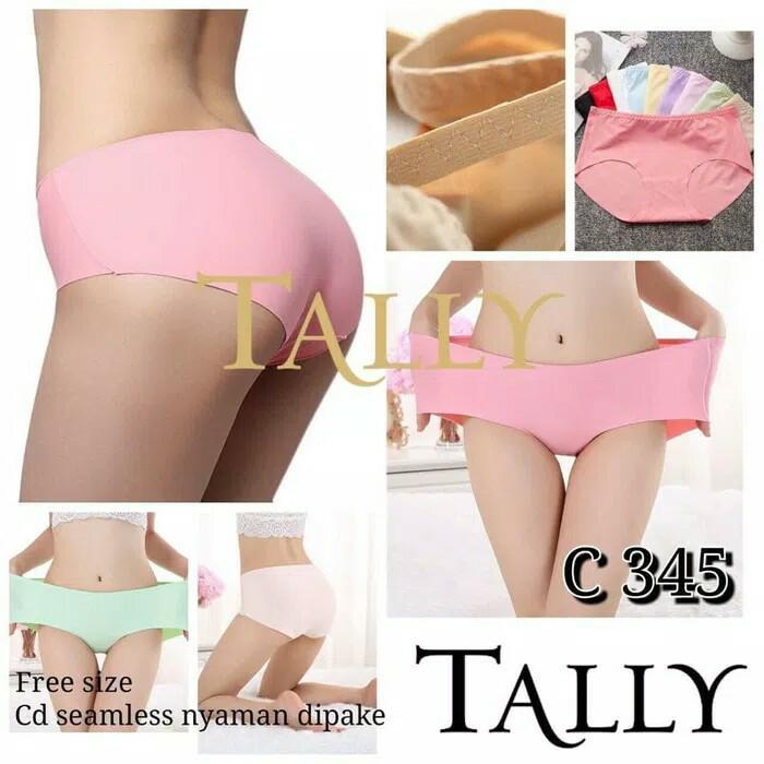 Tally Celana Dalam Seamless Tanpa Jahitan C-345 (All size L fit to XXL)