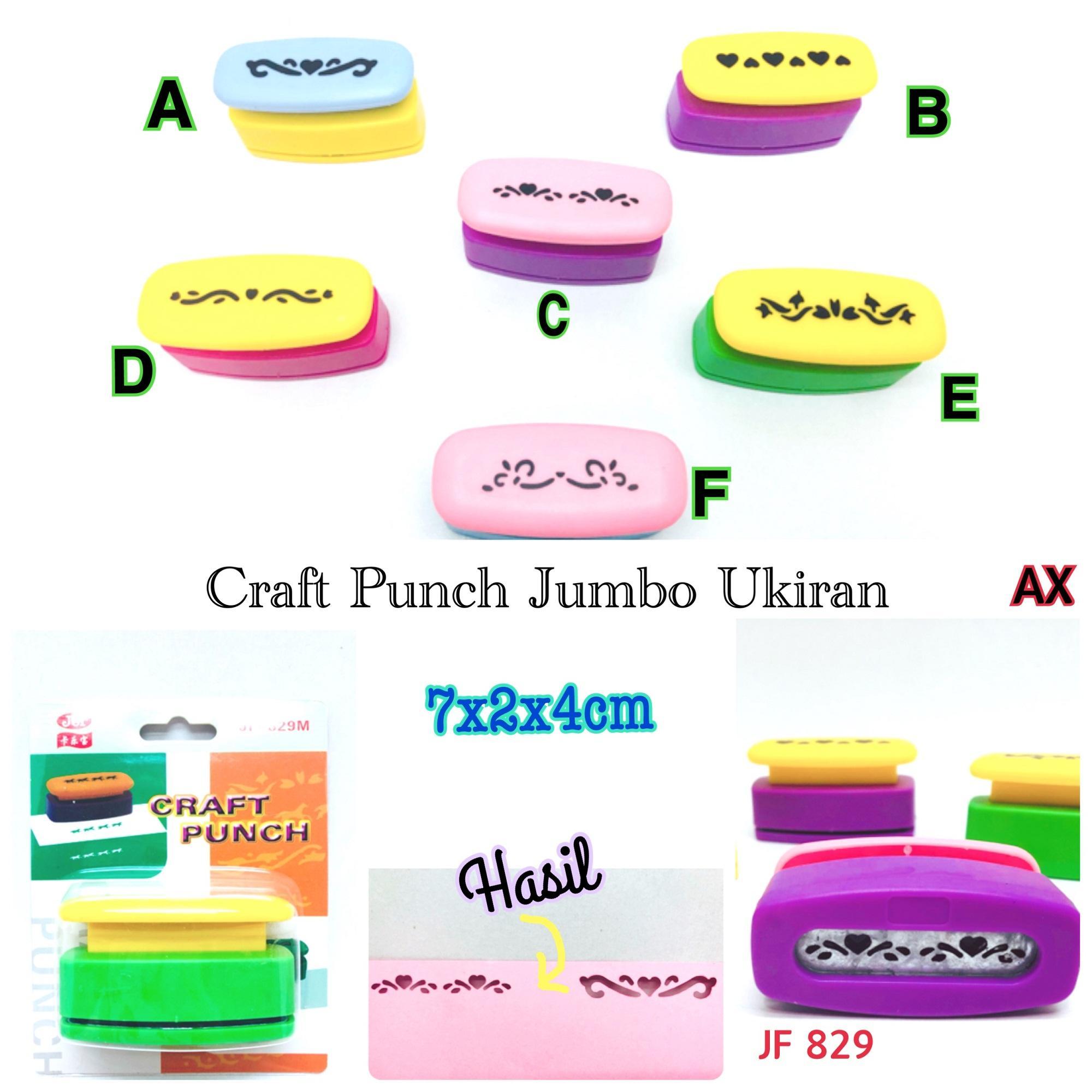 Craft Punch Jumbo Ukiran DIY Mainan Edukasi