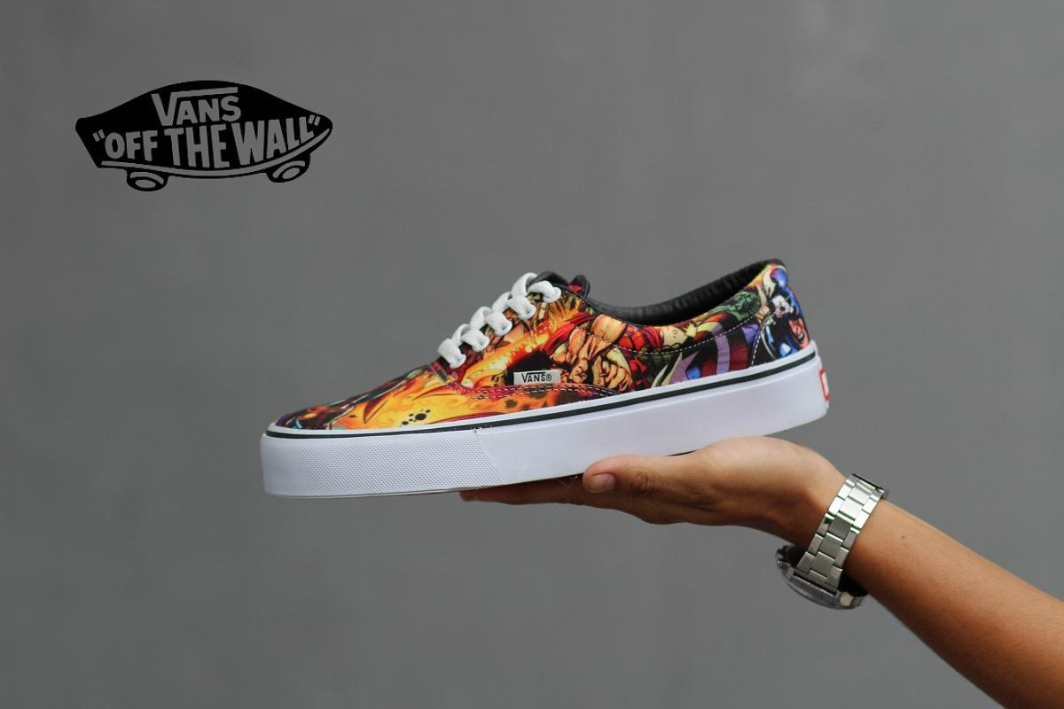 PROMO Sepatu Vans Of The Wall Inferno MARVEL AVENGERS Kets Casual Pria