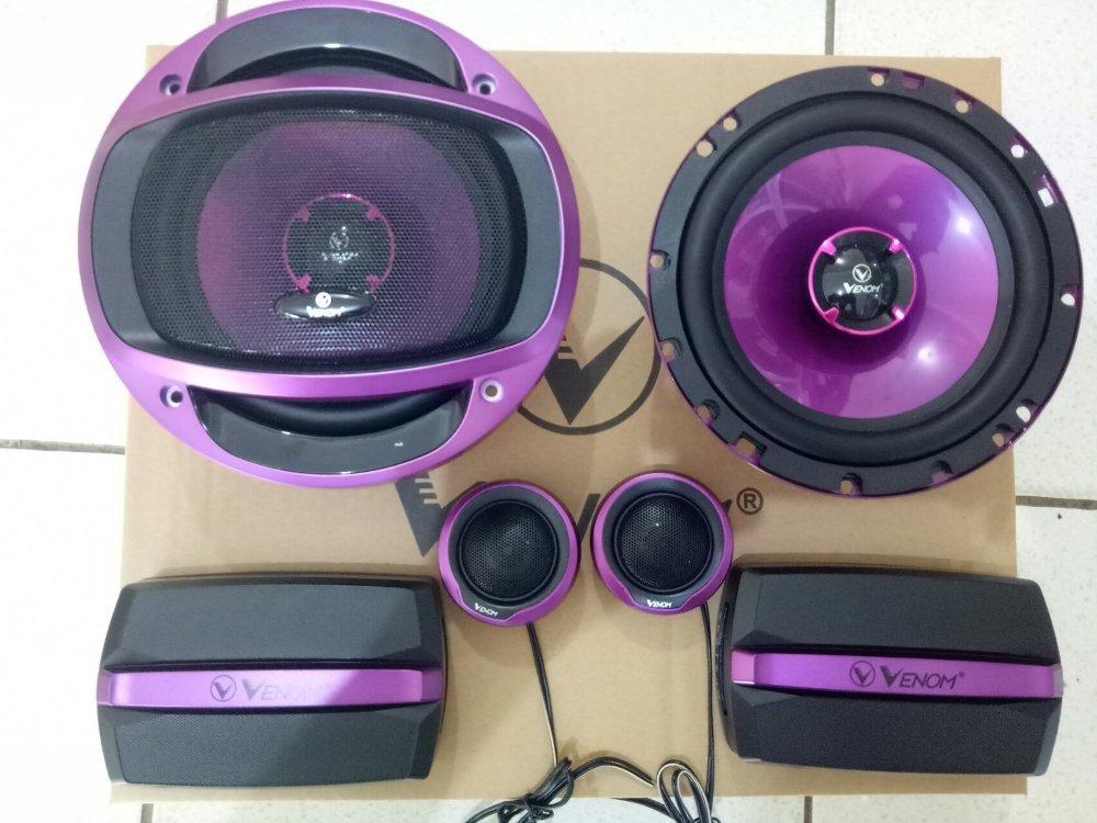 Speaker Split Venom Turbo VX6TO