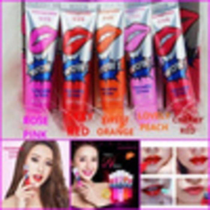 Lip Tatto Lipstik Lipstic Tatto Makeup Make up perona Pemerah bibir Monomola WOW Best Seller