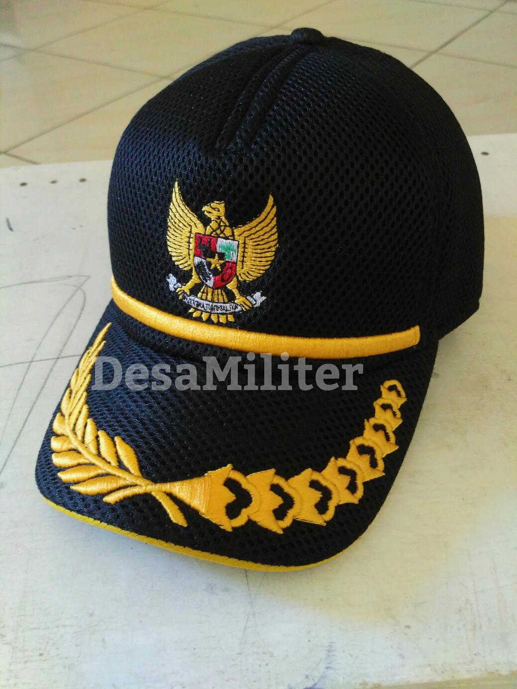 Topi Jaring - Topi Lapangan - Pilkada - Topi Garuda - Kepala Desa - Walikota - Bupati - Padi Kapas