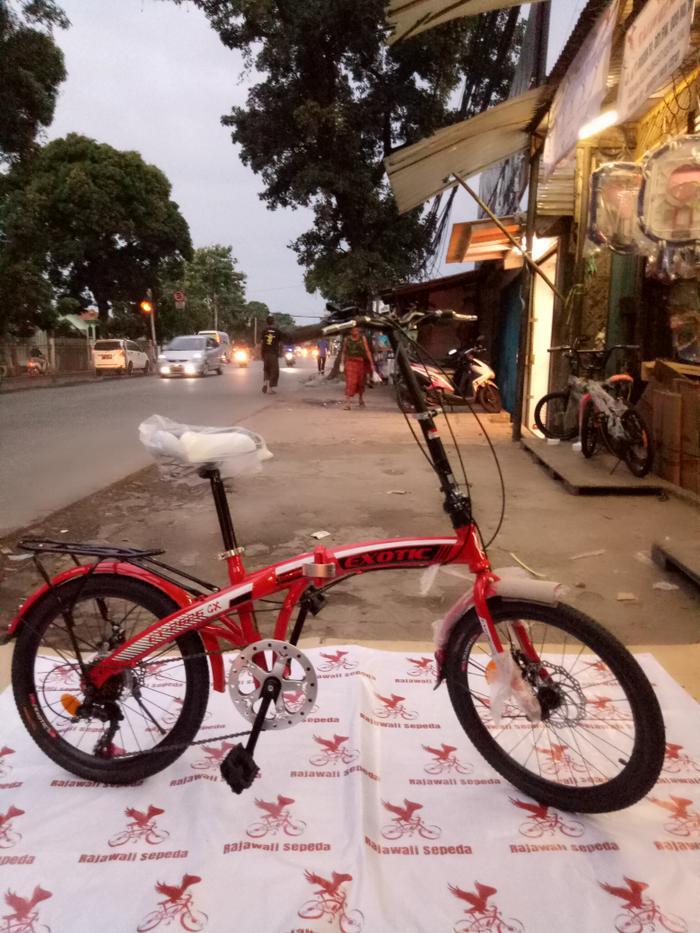 BEST SELLER!!! Sepeda anak 20 lipat exotic 2625 gx, f/r brake:disc brake ,speed:7 sp - hyN5AT