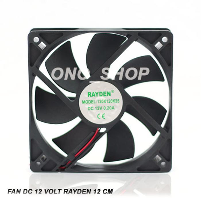 Fan DC 12 Volt Rayden 12 Cm