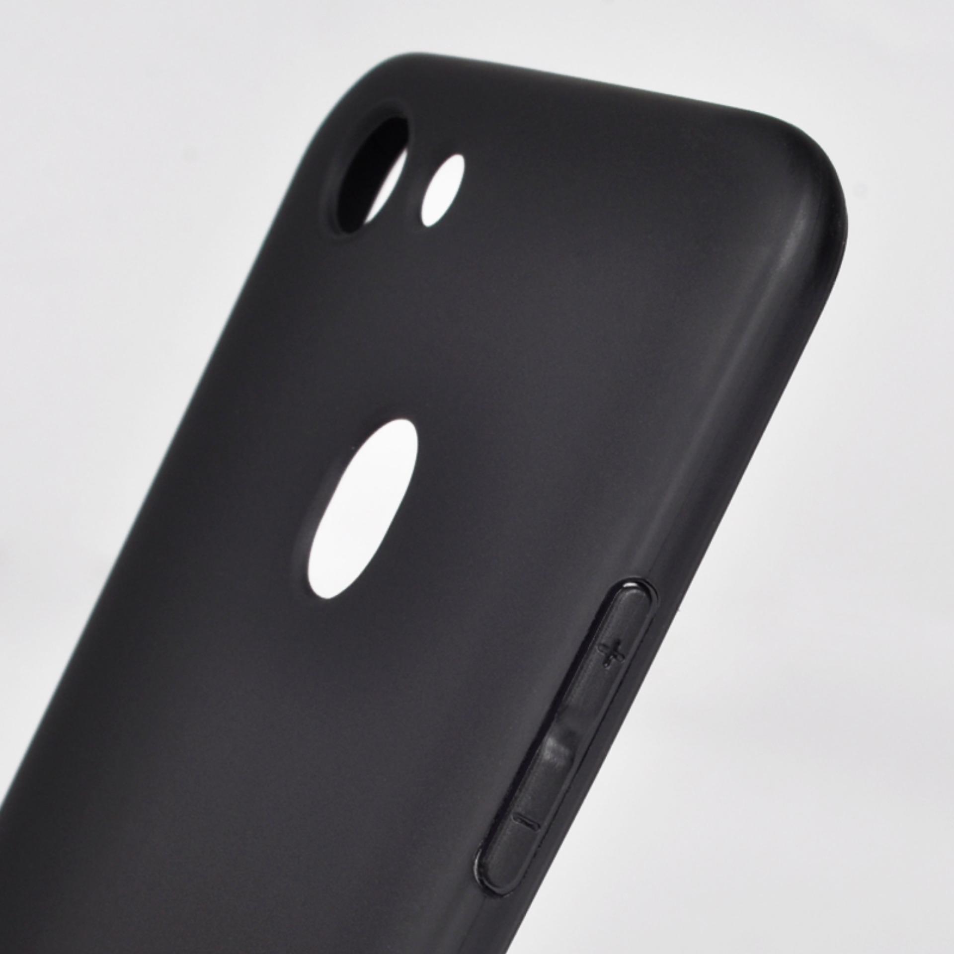 Case Slim Black Matte Oppo F5/F5 Youth Baby Skin Softcase Ultra .