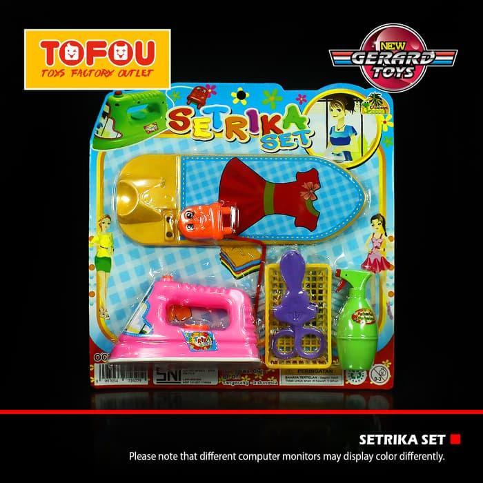 Brick Lego Puzzle Setrika Papan Mika OCT243 Pink Murah