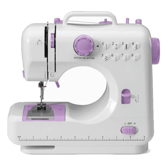 FHSM 505 Mesin Jahit Portable Sewing Machine with Foot Pedal / Mesin Jahit Portable / Mesin Jahit