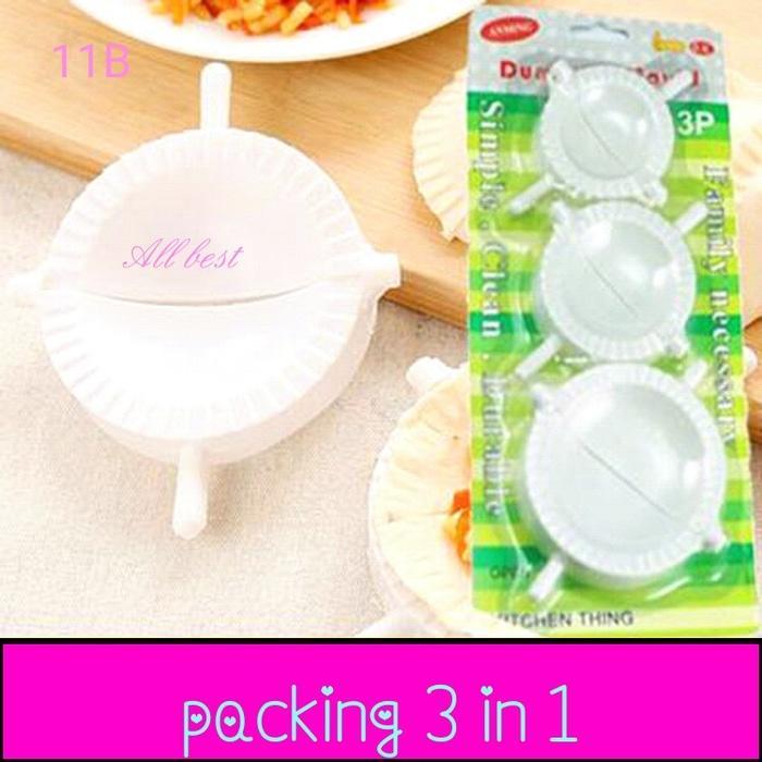 cetakan pangsit pastel kue(11B) set 3 ukuran/ dumpling mold set