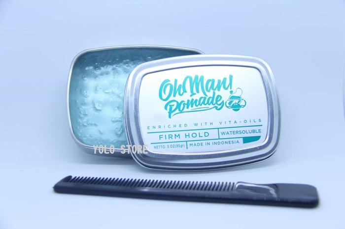 ... OH MAN! OHMAN BABY NUTRI BLUE MINI SIZE 45 GRAM STRONG HOLD DIVINE WATERBASED. Source · OhMan Nutri Blue Pomade Waterbased 3oz + FREE SISIR - TESdrd