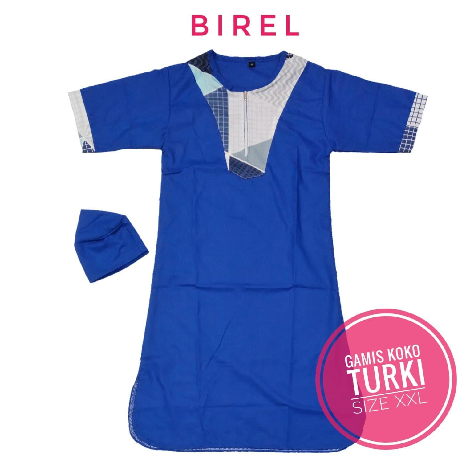 〘TERmuRAh〙QX435 Gamis Koko Jubah Size XXL 5-7 tahun Baju Muslim Anak Laki Cowok TK