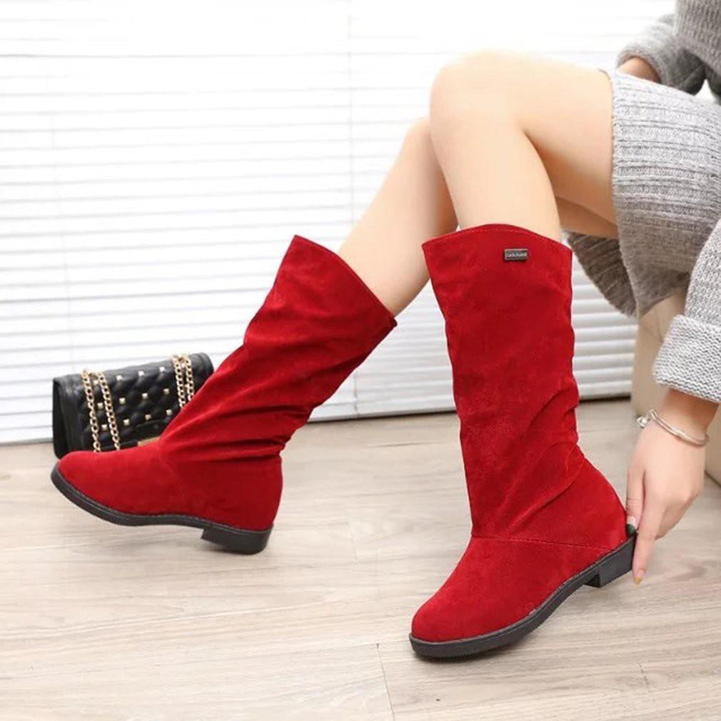 Sepatu Boots Wanita Hangat Untuk Musim Dingin