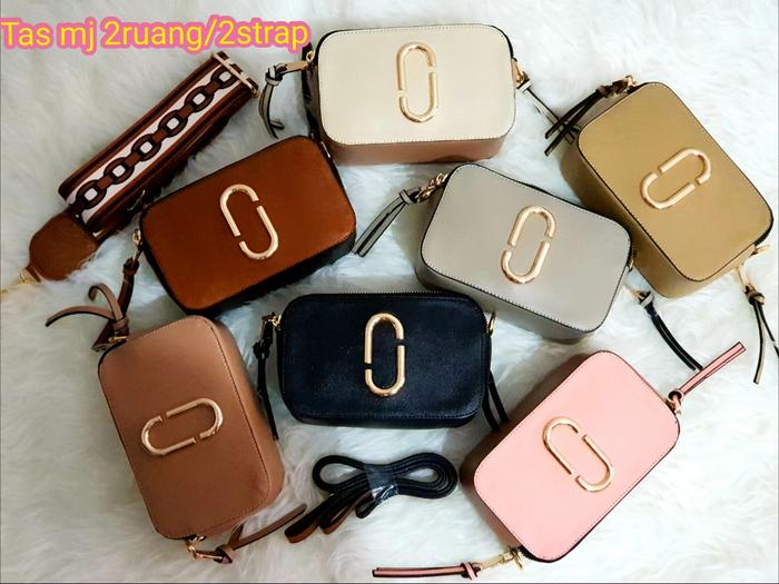 Tas mj(marc jacobs) free 2 strap/2 sekat ada embos marc jacobs - 5E8yvY