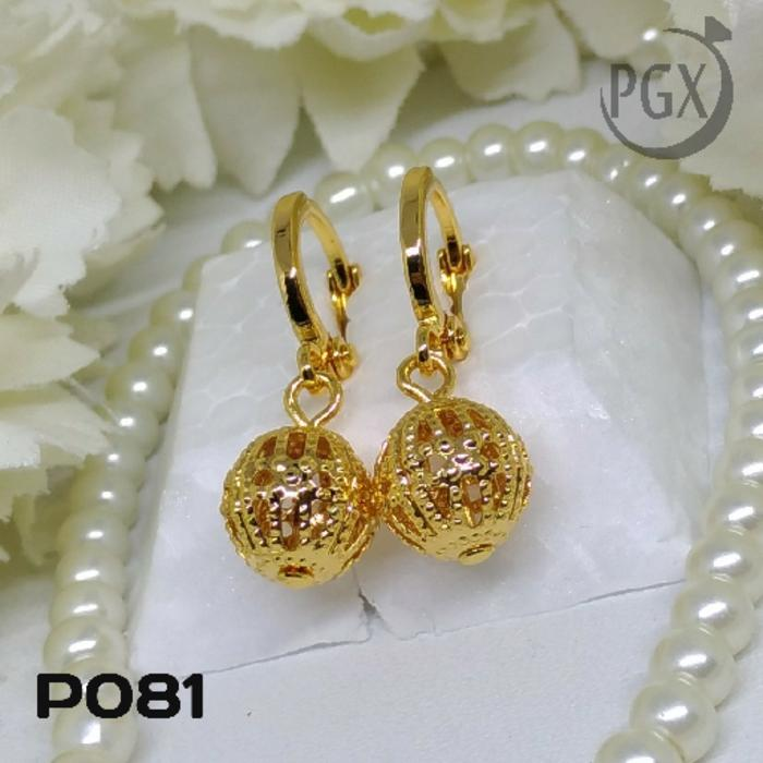P081 Anting Xuping  - Perhiasan Lapis Emas 18K