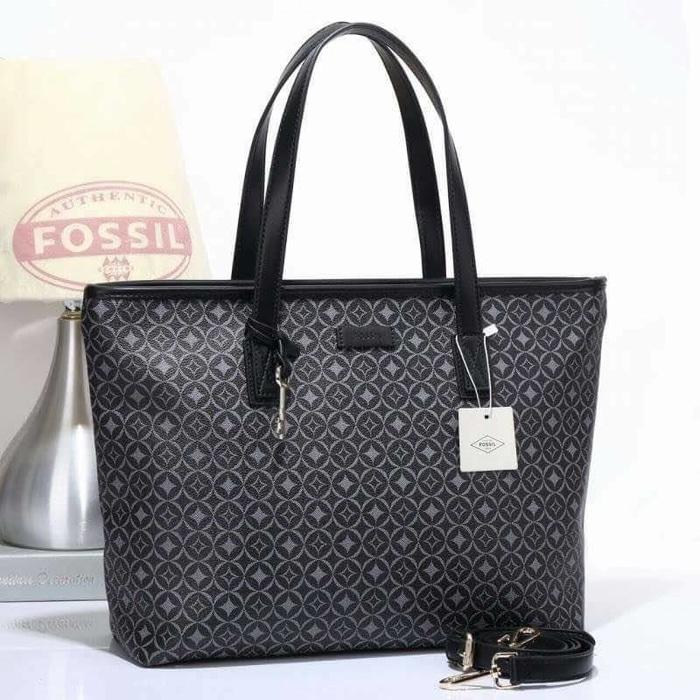 Tas Fossil Sydney Shopper Totebag Shoulder Multicolor Import Murah - 4AjHI0