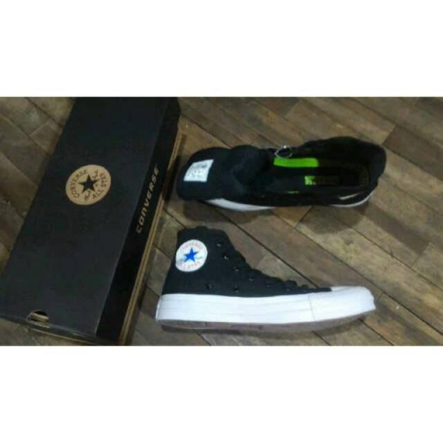 Sepatu Converse USA UK shoes promo hot best seller full black kasual casual sneaker kets dance