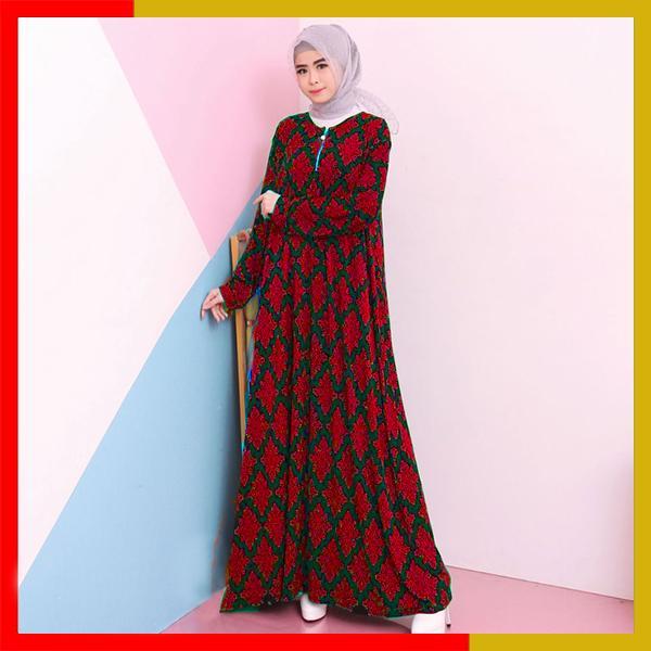 Fitur Baju Gamis Wanita Jersey Jumbo Xxl 9735 Dan Harga Terbaru
