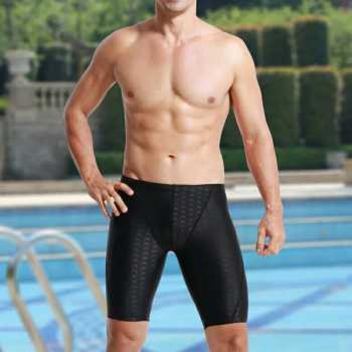 Celana Renang Shark Skin Pria Panjang Paha - BqCYsT
