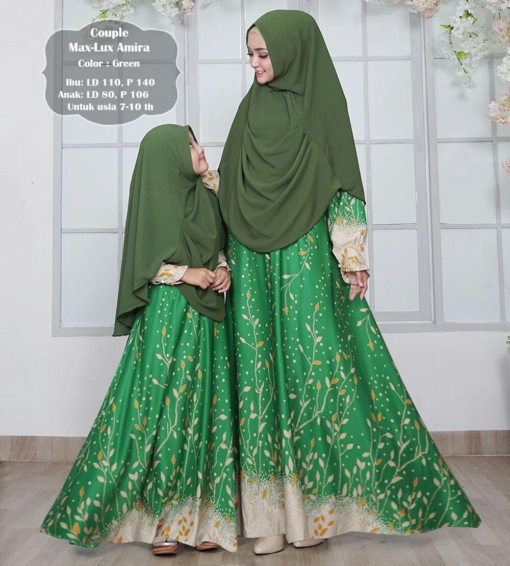 silentriver88  Gamis Muslim syari maxmara amira ibu dan anak couple