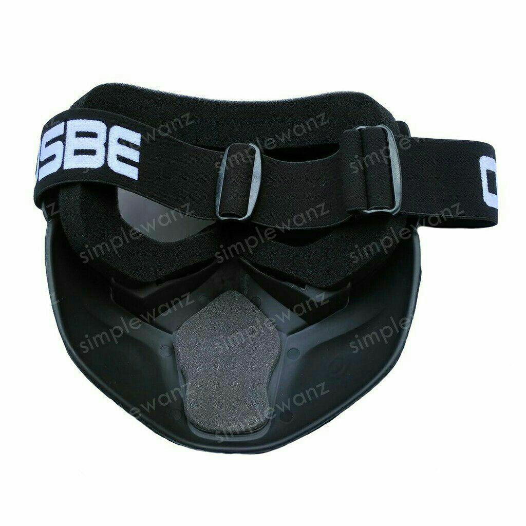 Cek Harga Baru Kacamata Goggle Osbe Alien Mask Modular Google Cross Gambar Produk Rinci Masker Topeng Riben Smoke Terkini