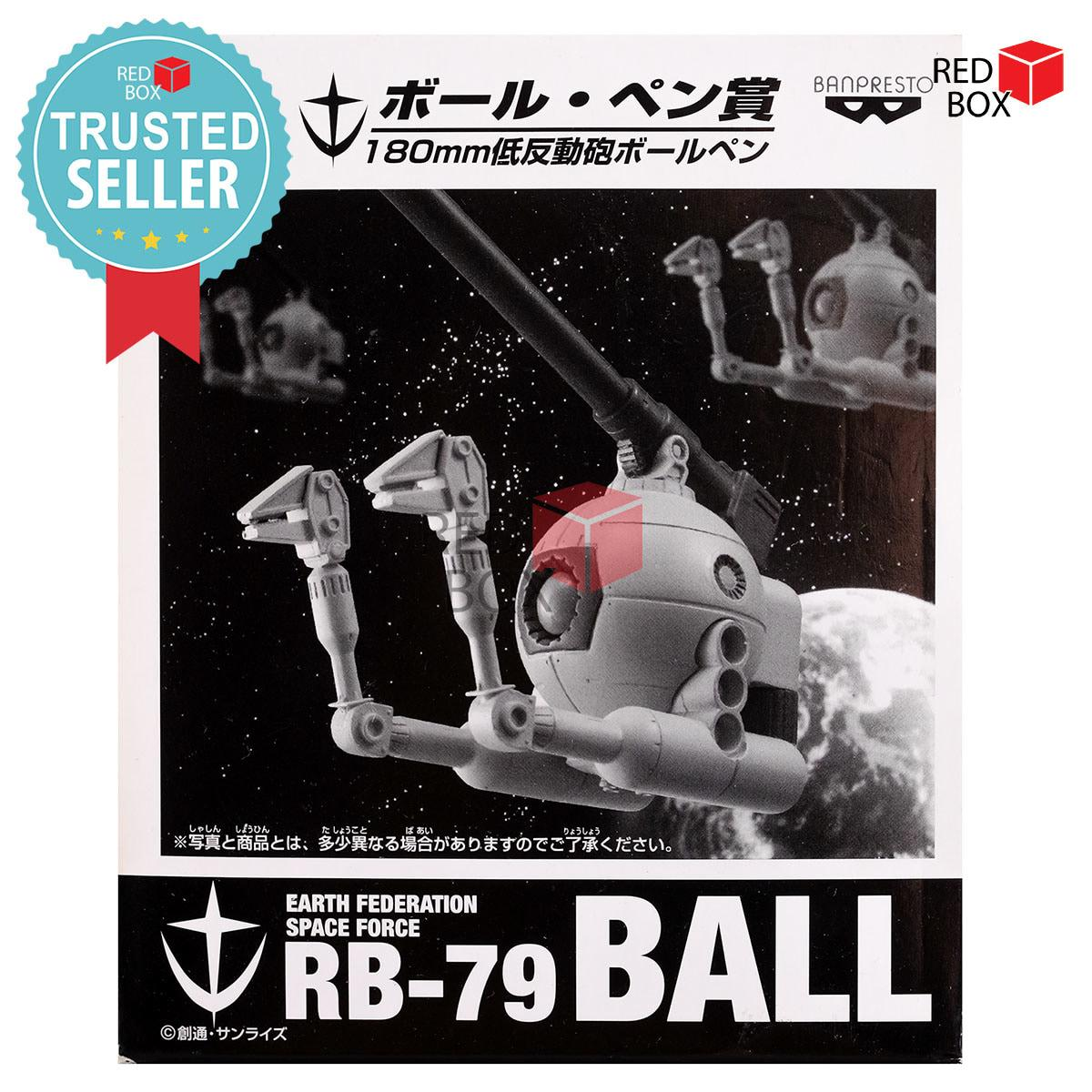 Termurah Mainan Koleksi Banpresto Ball Pen Black - Ichiban Kuji Mobile Suit Gundam Anime Cartoon