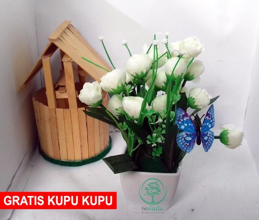 Gambar Rinci Terbaru SangAdam-Bunga Allamanda-bunga plastik-hiasan ruang  tamu   kantor 13fa74d813