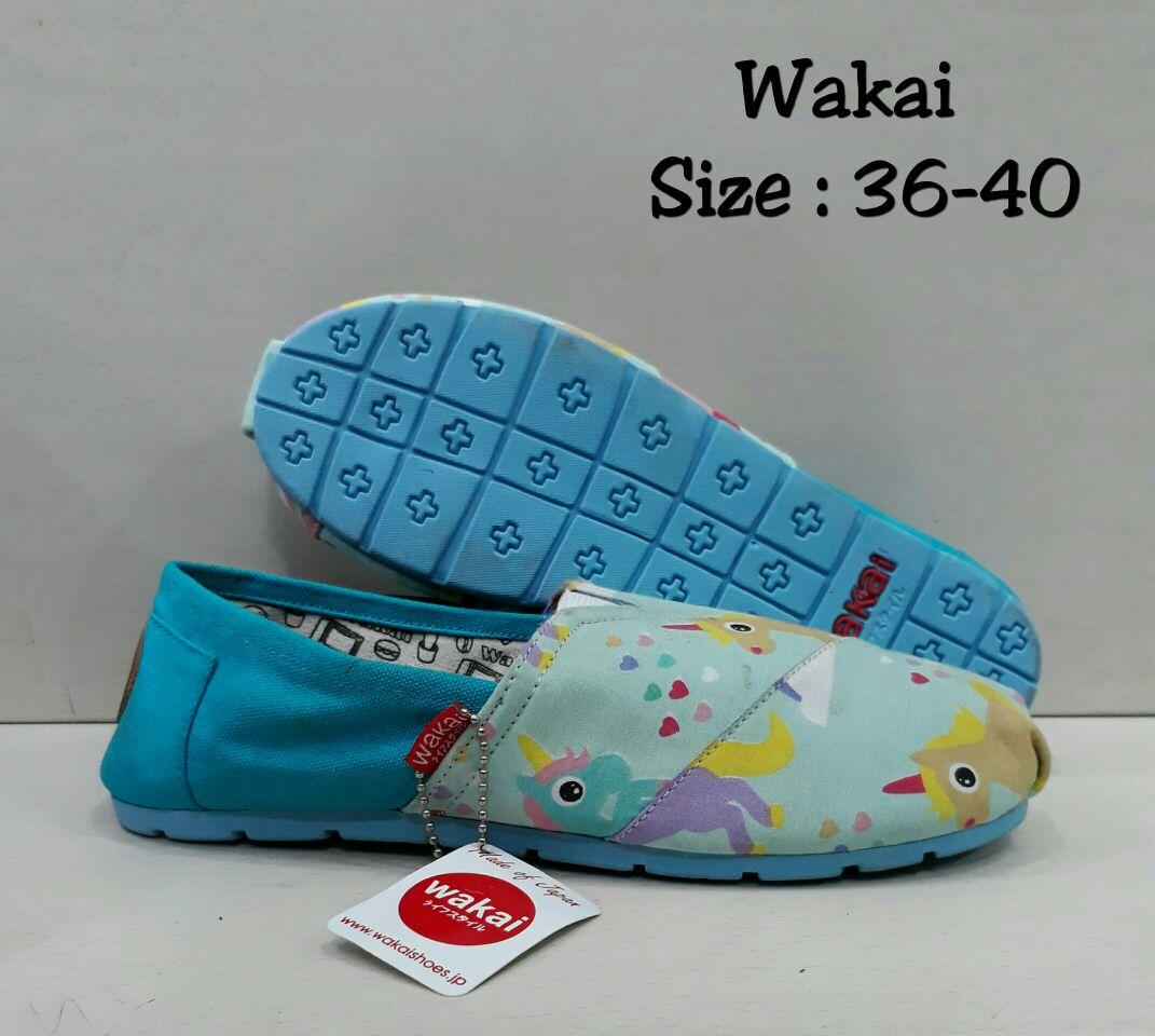Wakai Blue Unicorn uk36-40