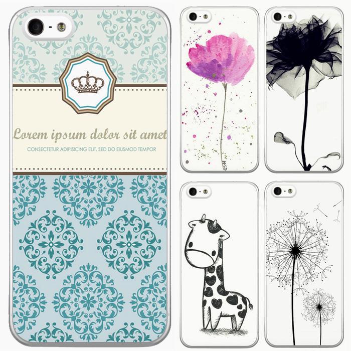 Iphone 5 5S Case Bunga Lucu Unik Keren Casing Murah Berkualitas Flora