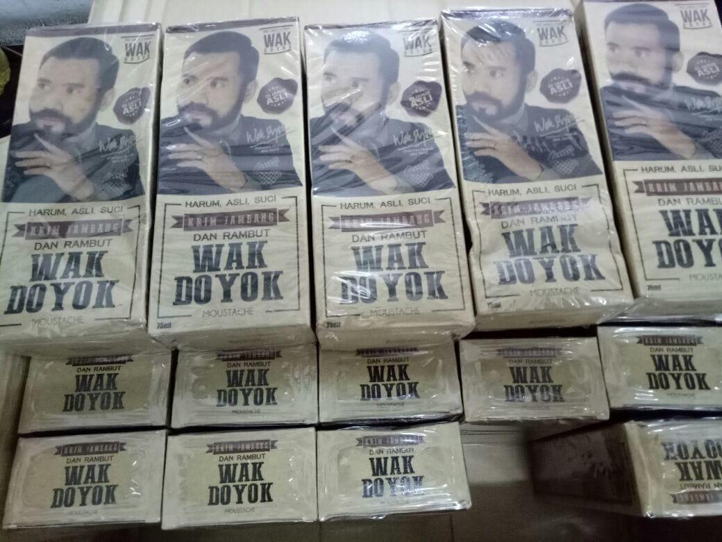 Beli Wakdoyok Rambut Jambang Wak Doyok Sampel 125ml Original Krim Penumbuh