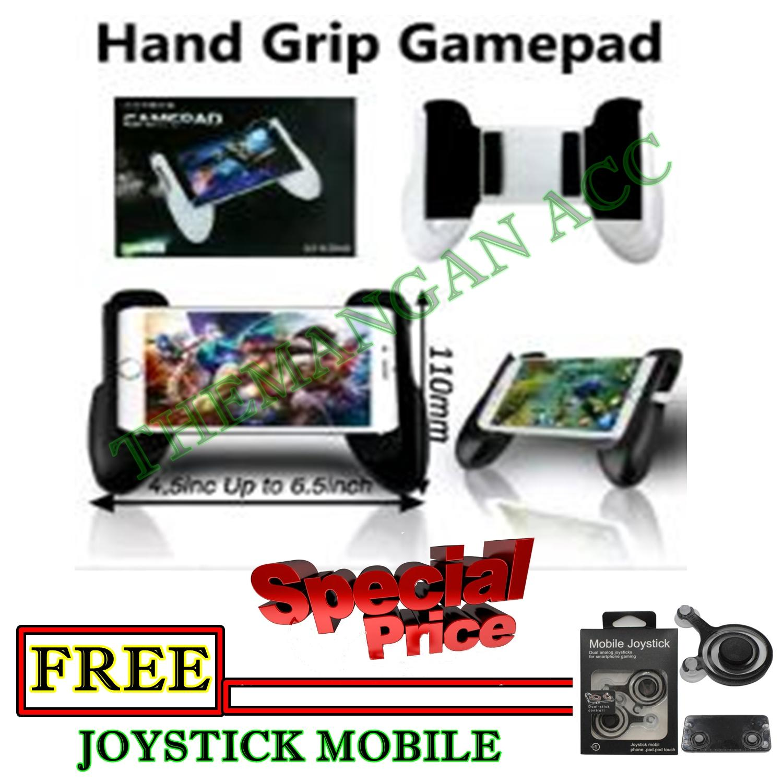 Gamepad Mobile Joystick Controller - Game Pad Grip MOBA Smartphone AOV - Warna RandomIDR36000. Rp 36.500