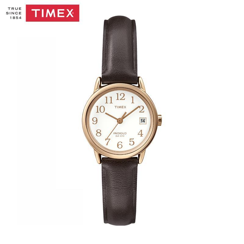Amerika Serikat TIMEX Timex jam tangan Couple wanita minimalis Retro Tren  Bercahaya Kuarsa ikat pinggang f317172e3e