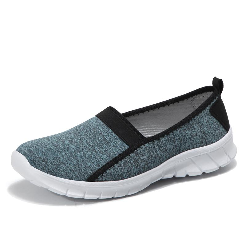 Chuangyu Wanita dan Pria Olahraga Slip-On Fleksibel Sepatu Jalan-Intl 67a78f2e40