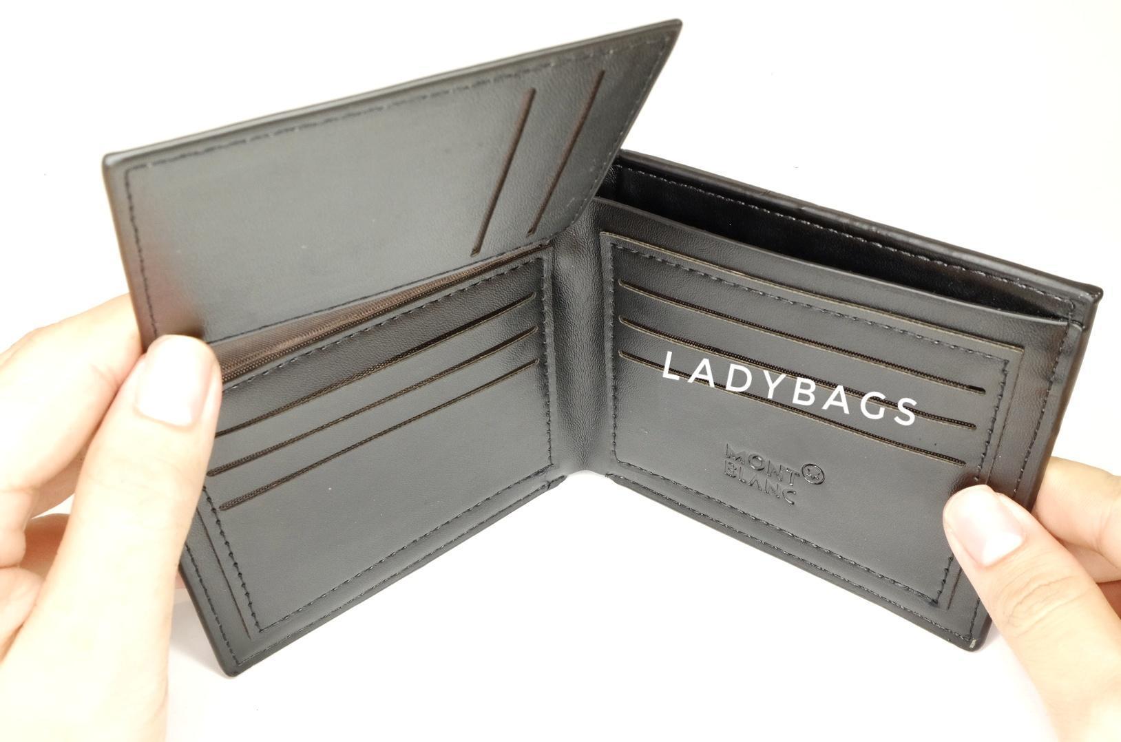 Dompet Kulit Asli Pria Cowo Pendek Import Branded Daftar Harga Bb 956 Wallet