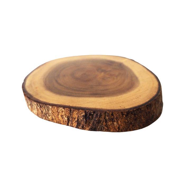 Kisaran|tatakan gelas coaster kopi teh kayu unik dapur kayu anti panas