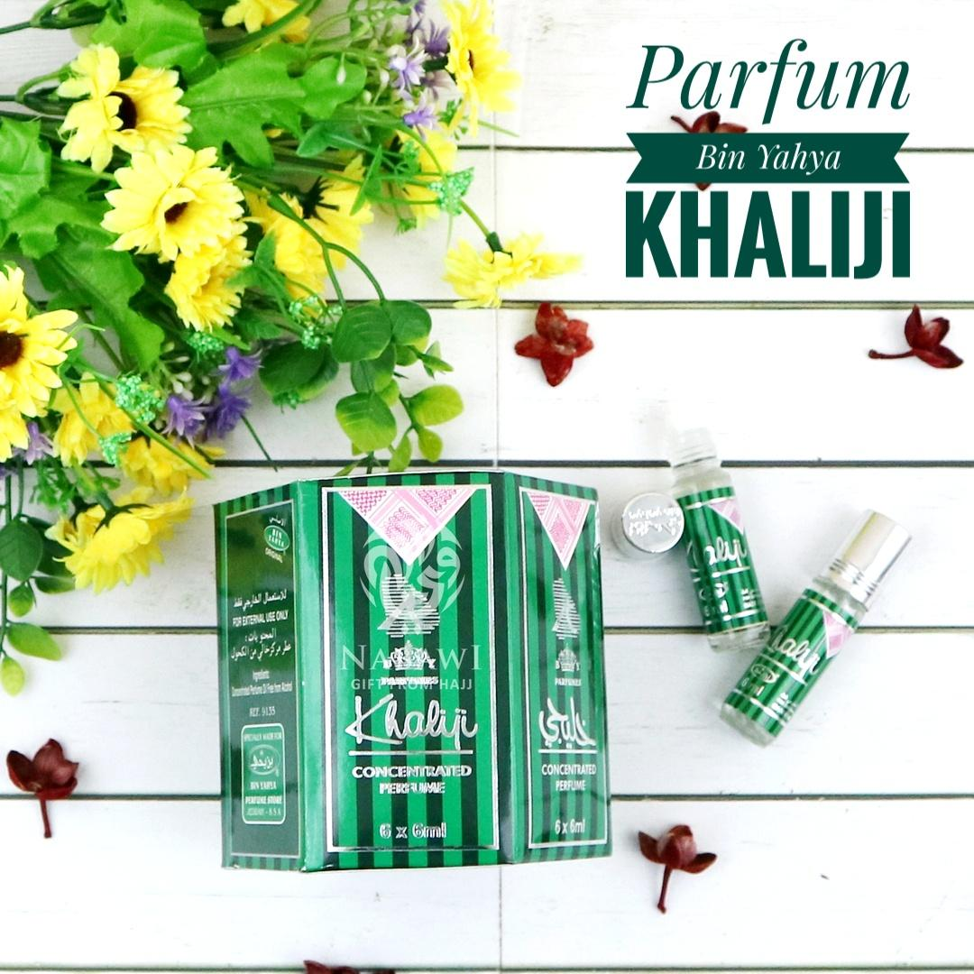 Parfum Minyak Wangi Non Alkohol Original Bin Yahya Khaliji 6 Botol Oleh Oleh Haji dan Umroh