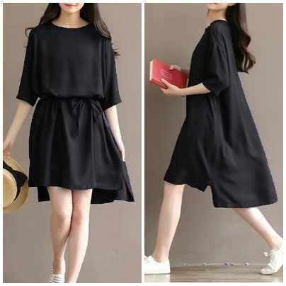 D.N.Y.H Shop Dress LEA / Baju Muslim / Kemeja Dress / Tunik / Atasan Wanita / Dress Wanita / Blouse