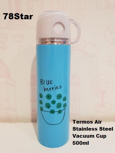 78Star Termos Air Stainless Steel Vacuum Cup Karakter / Botol Minum - 500ml