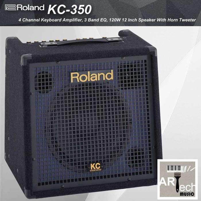Referensi Ampli Roland KC350 / KC 350 Keyboard Amplifier 4 Channel 120 Watt speaker aktif / speaker laptop / speaker super bass