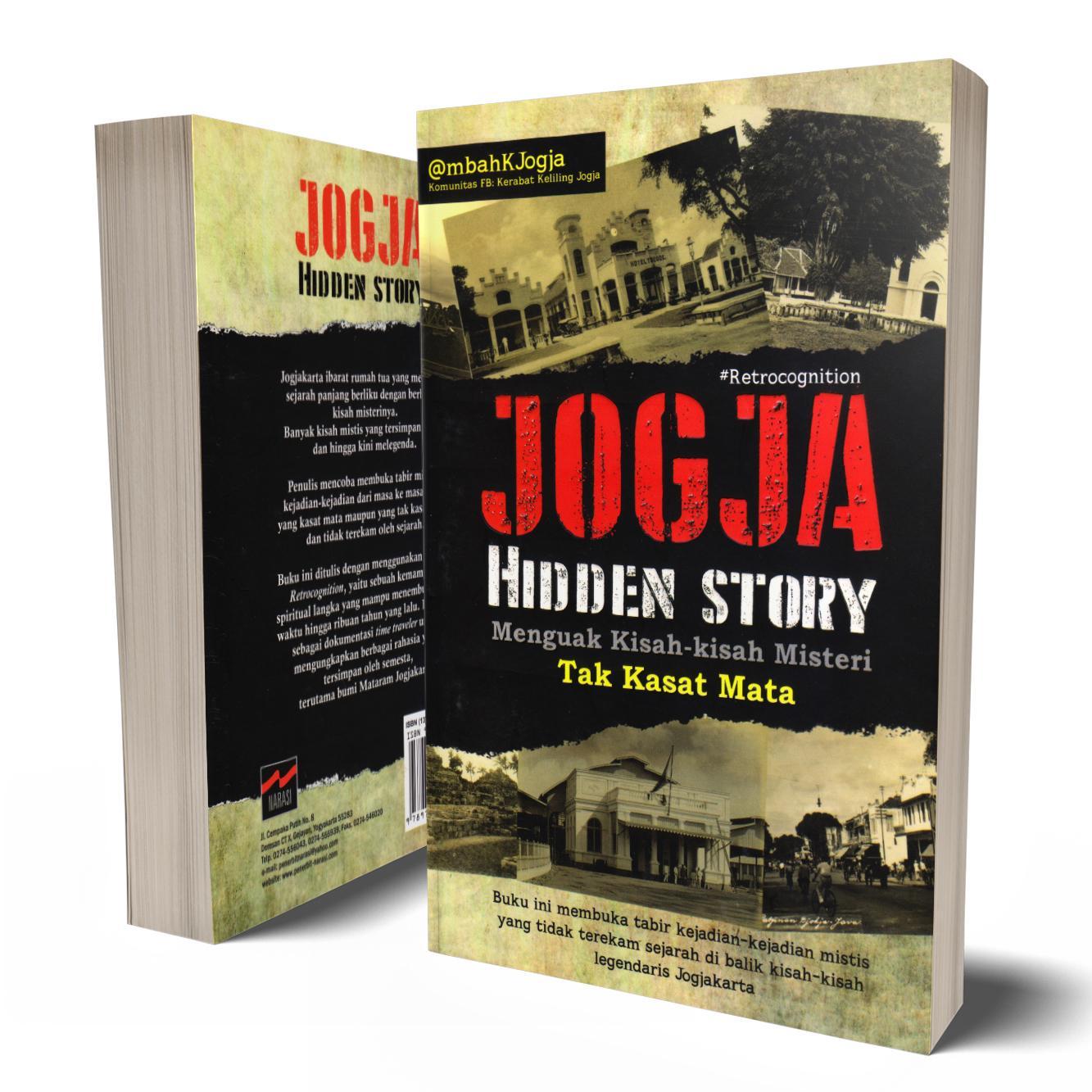 Buku Seru - Jogja Hidden Story; Menguak Kisah-kisah Misteri Tak kasat Mata