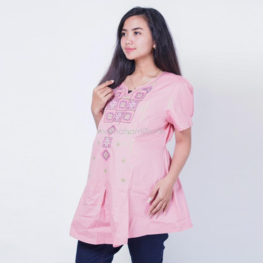 Ning Ayu Baju Hamil Menyusui Pendek Motif Cristik Cantik - SD 310 / Baju Hamil dan Menyusui/ Baju Ibu Menyusui / Baju Ibu Menyusui Lengan Panjang / Baju Gamis Ibu Menyusui / Baju Daster Ibu Menyusui / Baju Wanita Menyusui