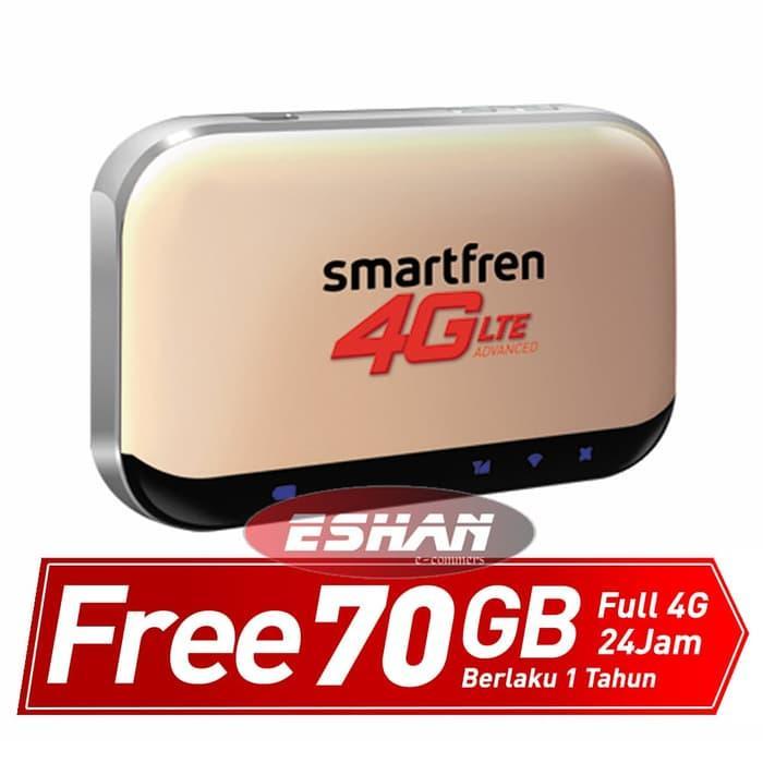 Hemat10%!! Smartfren Mifi Andromax M5 70 Gb-Modem Wifi-Router - ready stock