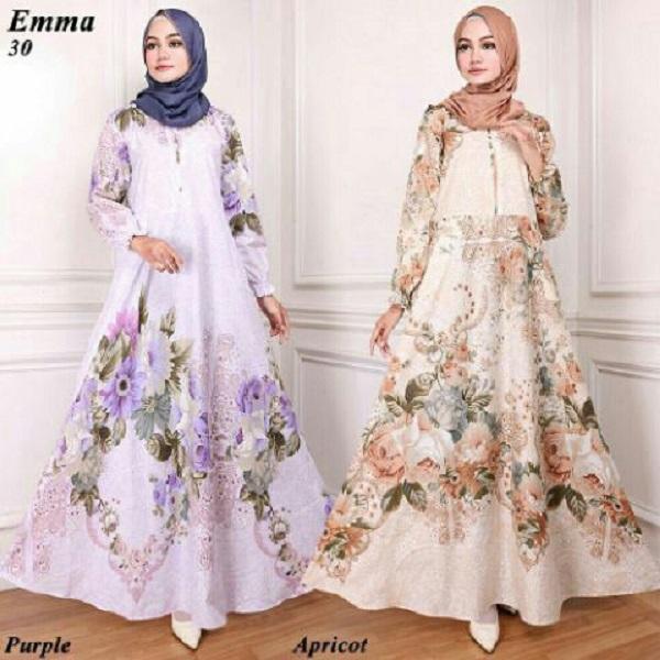 Maxi Emma 30 - Baju Muslim - Gamis Syari - Busana Muslimah