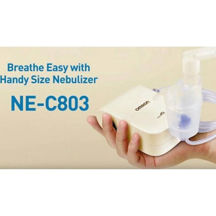 Best Seller NEW Nebulizer Portabel Omron Alat Uap Kecil Alat Asma NE
