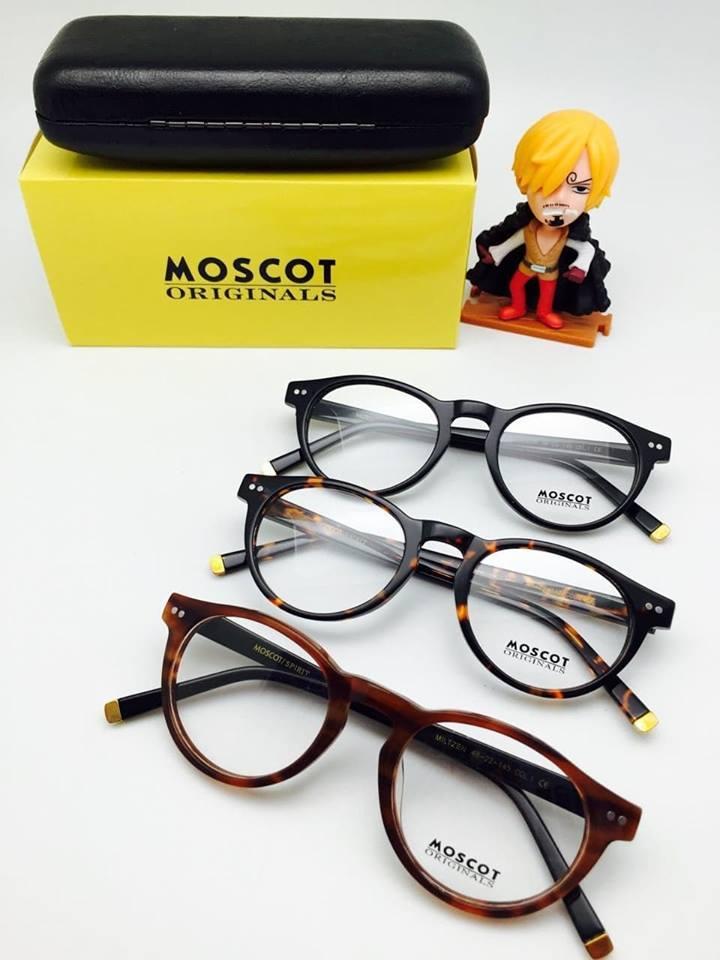Terbaru Frame Kacamata Minus Moscot Usa Pria Wanita Hitam - High Quality