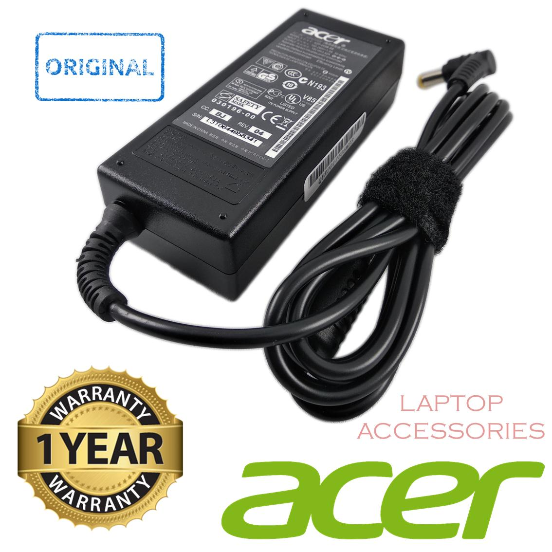 Cek Harga Baru Adaptor Charger Original Laptop Acer 19v 3 42a 5 5mm Keyboard 4736 4738 4740 342a 55mm X 17mm For