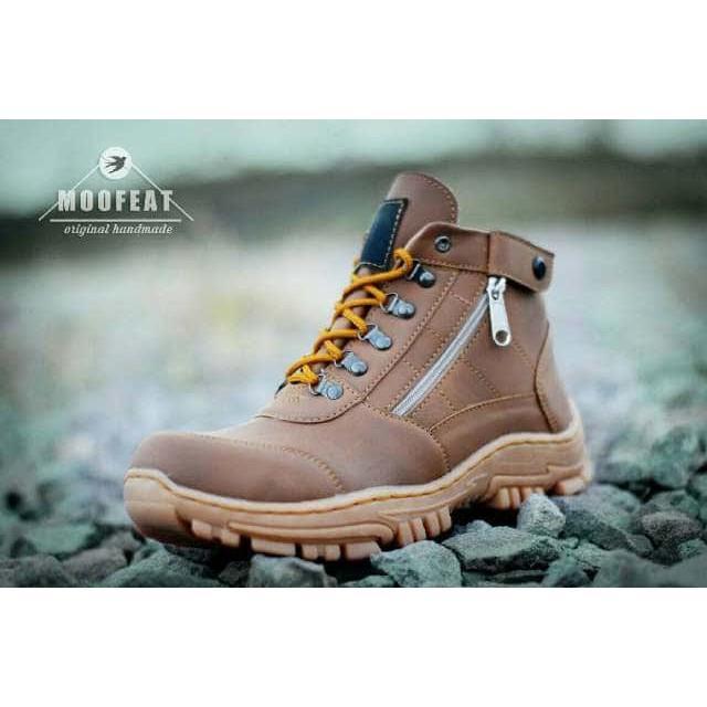 ... Sepatu Bandung Produk Handmade Murah Kasual Boots Pria Moofeat Safety Boots 01 - 3