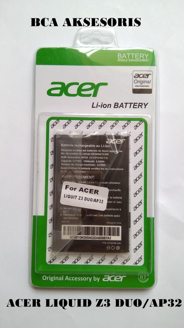 BEST SELLER - BATTERY BATRE BATERAI ACER LIQUID Z3 DUO / AP32 ORIGINAL