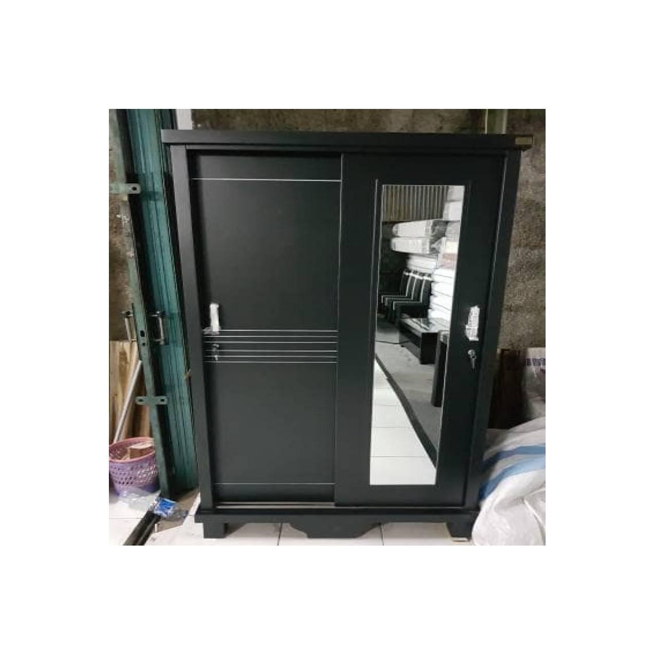 Lemari Blockteak 2 pintu minimalis