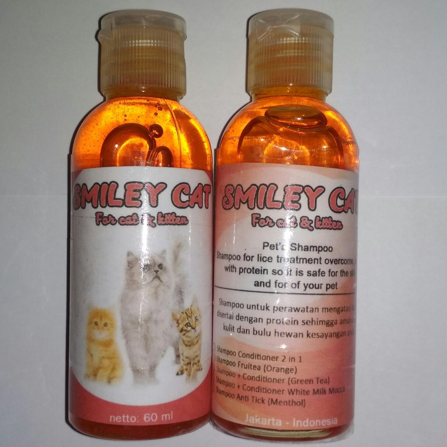 Jual Sampo Kucing Terbaik Shampoo Anti Kutu Lice Wangi Melembutkan Bulu Mengurangi Rontok