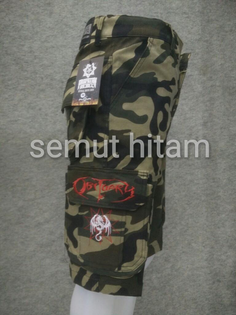 Celana Pendek Cargo Pria / Celana Pendek Kempol Army Prapatan Rebel